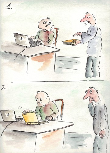 Cartoon: book (medium) by Slawek11 tagged book,education,learning