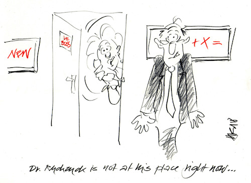 Cartoon: Hide and Seek (medium) by helmutk tagged business