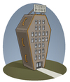 Cartoon: Retirement Home (small) by Tjeerd Royaards tagged retirement,pension,old,people,nursing,home