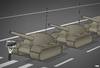 Cartoon: Tiananmen Square (small) by Tjeerd Royaards tagged china,tiananmen,square,freedom,human,rights,protests,anniversary