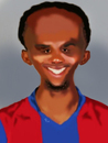Cartoon: Samuel Etoo (small) by Alpi Ayaz tagged etoo,cameroon,lion,barcelona