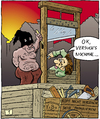 Cartoon: 1vobobild001 (small) by VoBo tagged repair,fix,famous,last,words,hangman,henker