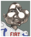 Cartoon: Jorge Lorenzo (small) by pincho tagged jorge,lorenzo,moto,gp,pole,carreras,campeon,mallorquin