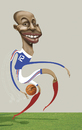 Cartoon: thierry henry (small) by pincho tagged thierry,henry,mundial,futbol,football,mano,hand,barcelona,francia
