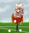 Cartoon: Vicente del Bosque (small) by pincho tagged vicente,del,bosque,seleccionador,mundial,futbol,football,sport,sudafrica,madrid,roja