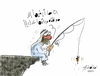 Cartoon: he need her working (small) by hamad al gayeb tagged he,need,her,working