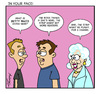 Cartoon: Betty White (small) by Gopher-It Comics tagged gopherit,ambrose,bettywhite