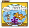 Cartoon: Fish Bowl (small) by Gopher-It Comics tagged gopherit,ambrose,goldfish,halloween
