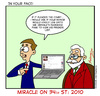 Cartoon: Miracle on 34th st 2010 (small) by Gopher-It Comics tagged gopherit,ambrose,santaclaus,christmas