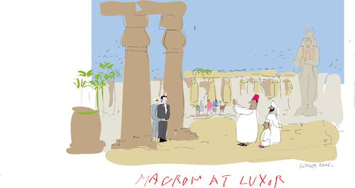 Cartoon: Luxor (medium) by gungor tagged egypt,egypt