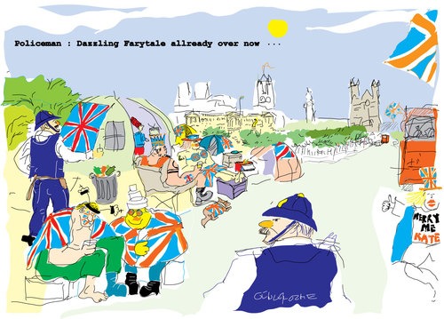 royal wedding cartoon. tagged royal,wedding