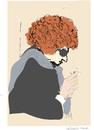 Cartoon: Bob dylan-2 (small) by gungor tagged usa