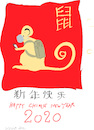 Cartoon: Chinese New Year 2020 (small) by gungor tagged china