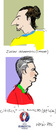 Cartoon: Euro 2016-5 (small) by gungor tagged hair,style