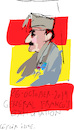 Cartoon: Francisco Franco (small) by gungor tagged spain