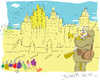 Cartoon: Guerre sans frontiere (small) by gungor tagged france