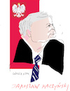 Cartoon: Jaroslaw Kaczynski (small) by gungor tagged poland