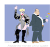 Cartoon: Madonna and H.Weinstein (small) by gungor tagged usa