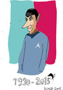 Cartoon: Mr Spock (small) by gungor tagged usa