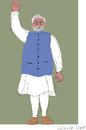 Cartoon: Narendra Modi (small) by gungor tagged india