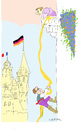 Cartoon: Rapunzel (small) by gungor tagged europe