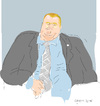 Cartoon: Rob Ford (small) by gungor tagged canada