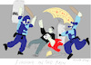 Cartoon: Singing in The Rain 10 (small) by gungor tagged hong,kong