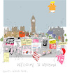 Cartoon: Visit to London 2018 (small) by gungor tagged uk