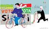 Cartoon: Vota No (small) by gungor tagged italy