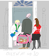 Cartoon: Welcome Home (small) by gungor tagged uk