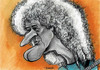 Cartoon: Brian may (small) by Tomek tagged brian,may,queen,guitar,caricatures