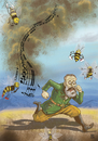 Cartoon: Flight Of The Bumble Bee (small) by gereksiztarama tagged nikolai,rimsky,korsakov