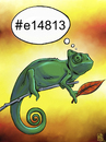 Cartoon: RGB (small) by gereksiztarama tagged chameleon