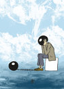 Cartoon: Thinking Man (small) by gereksiztarama tagged think
