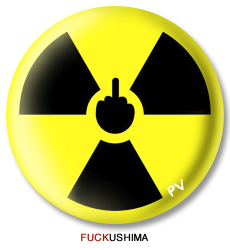 Cartoon: FUCKushima (medium) by pv64 tagged pv,no,nuke,fukushima,japan,nuclear,disaster