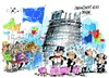Cartoon: Parlamento Europeo-presupuestos (small) by Dragan tagged parlamento,europeo,presupuestos,2013,bruselas,politics,cartoon