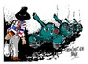 Cartoon: Plaza de Tiananmen- aniversario (small) by Dragan tagged plaza,de,tiananmen,pekin,china,politics,cartoon