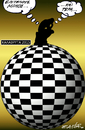 Cartoon: chess thinkers (small) by johnxag tagged chess,contest,johnxag