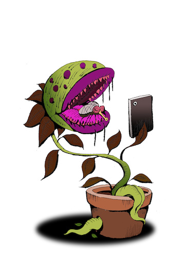 Cartoon: Food Selfie... (medium) by berk-olgun tagged food,selfie