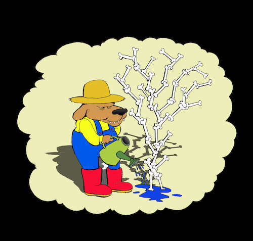 Cartoon: Gardener... (medium) by berk-olgun tagged gardener
