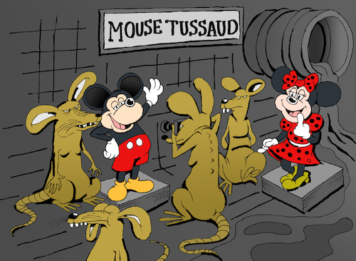 Cartoon: Mouse Tussaud... (medium) by berk-olgun tagged mouse,tussaud