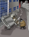Cartoon: Absurd.. (small) by berk-olgun tagged absurd