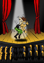 Cartoon: Air Guitar... (small) by berk-olgun tagged air,guitar