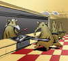 Cartoon: Anteater Table dHote... (small) by berk-olgun tagged anteater,table,dhote