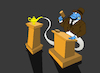 Cartoon: Auction... (small) by berk-olgun tagged auction