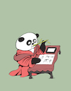 Cartoon: Bamboo Pen... (small) by berk-olgun tagged bamboo,pen