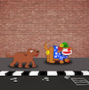 Cartoon: Clown Dog... (small) by berk-olgun tagged clown,dog