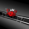Cartoon: Crab at Gym... (small) by berk-olgun tagged crab,at,gym