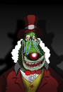 Cartoon: Crying Clown... (small) by berk-olgun tagged crying,clown