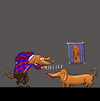 Cartoon: Dachshund Boy... (small) by berk-olgun tagged dachshund,boy